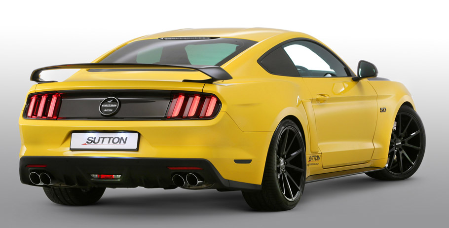 Clive Sutton Ford Mustang CS700 rear view