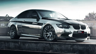Fostla.de shows stunning black-chrome BMW M3 Coupe