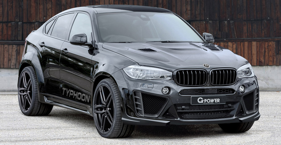 G-Power BMW X6 M Typhoon  front view