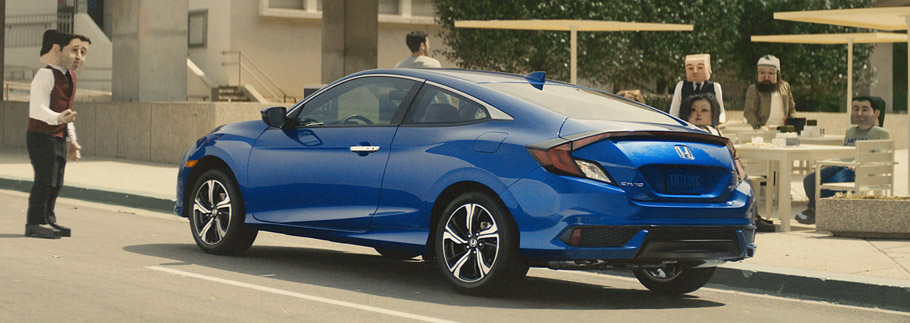 2016 Honda Civic Coupe Square