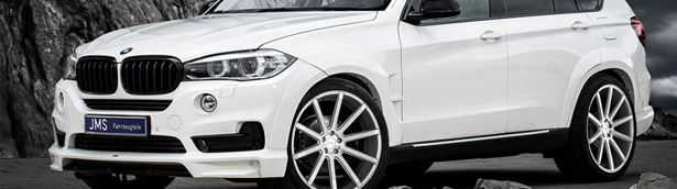 JMS experts make things cool with the BMW X5 Racelook Exclusive Line