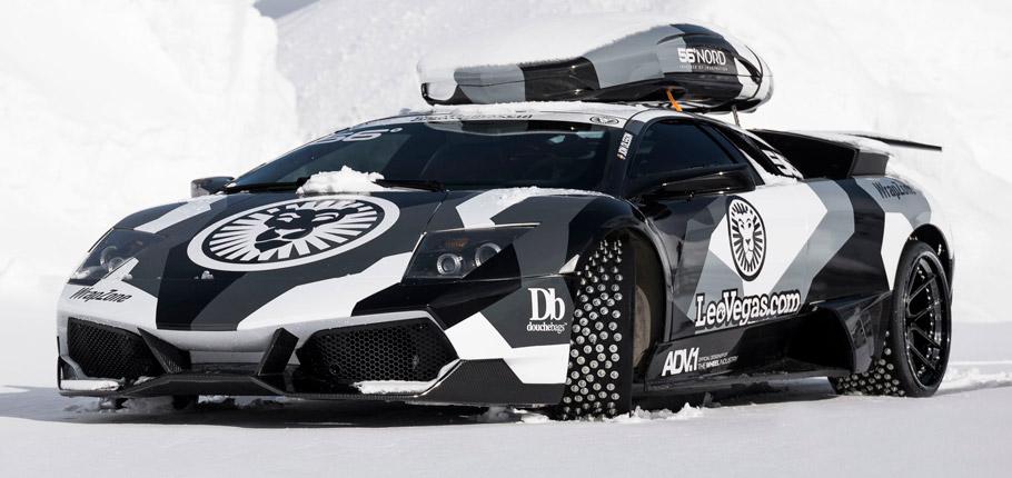 Jon Olsson Lamborghini Murcielago front view