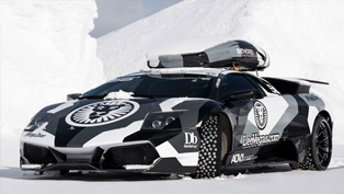 This is what happens when you take a Lamborghini for a mountain ride [w/video]