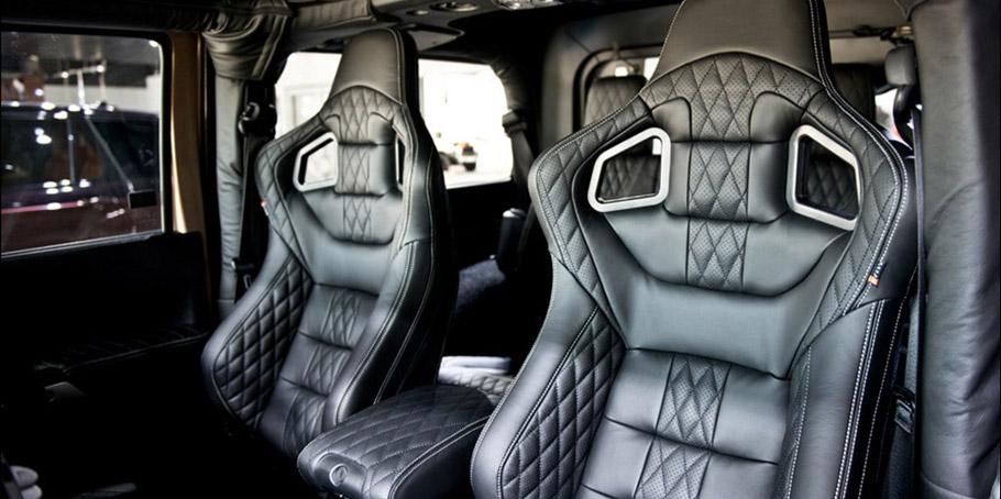 Kahn Jeep Wrangler Sahara CJ300 Adventure Edition interior