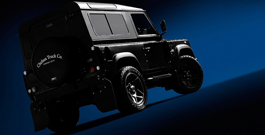 Kahn Land Rover Defender Limited Edition rear view