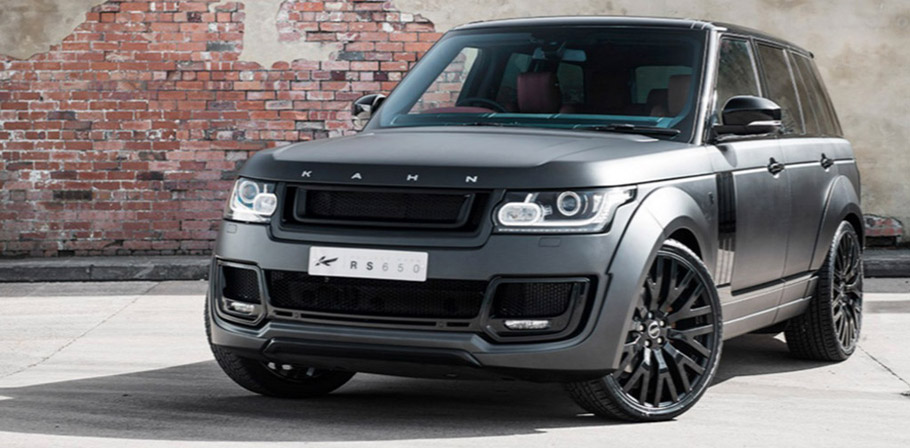 Kahn Range Rover Supercharged Autobiography Pace Car front view