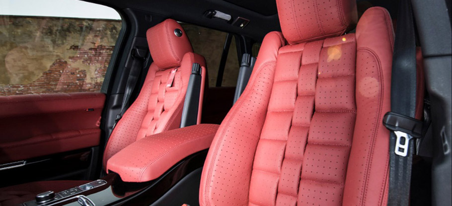 Kahn Range Rover Supercharged Autobiography Pace Car interior