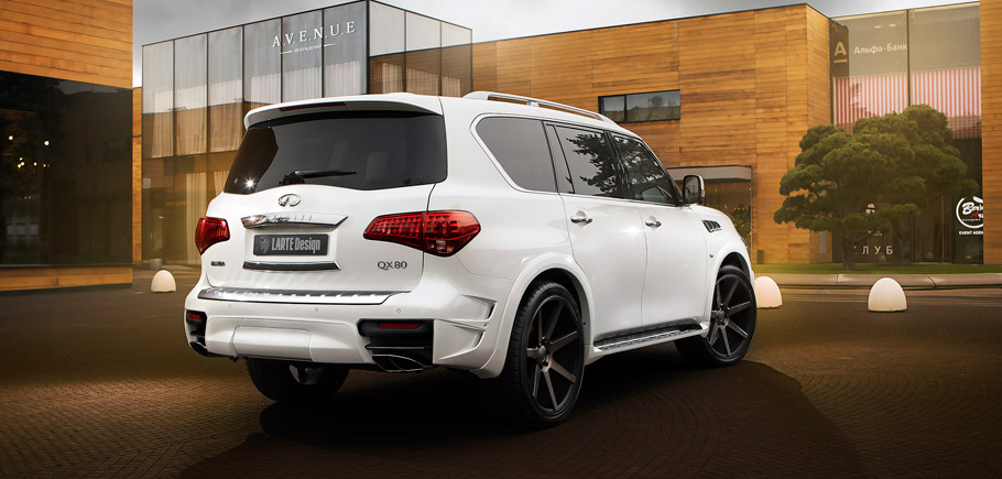Larte Design Infiniti QX80 Missuro rear view