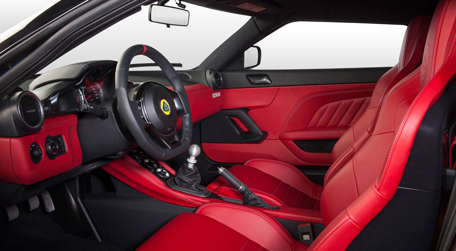 Lotus Evora 400 Hethel Edition interior