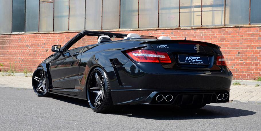 MEC DESIGN Mercedes-Benz E-Class Cabriolet Cerberus rear and side view
