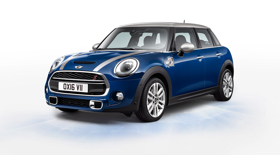 mini usa introduces the mini seven the first special edition of the ...