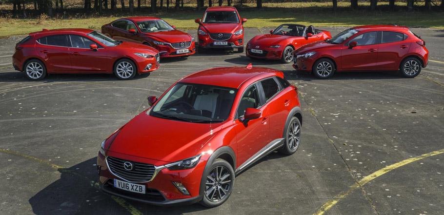 2016 Mazda Lineup