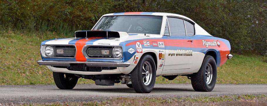 1968 Plymouth Barracuda B029 Super Stock