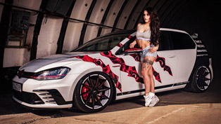 OXIGIN Volkswagen Golf 7 GTI Clubsport is a piece of art