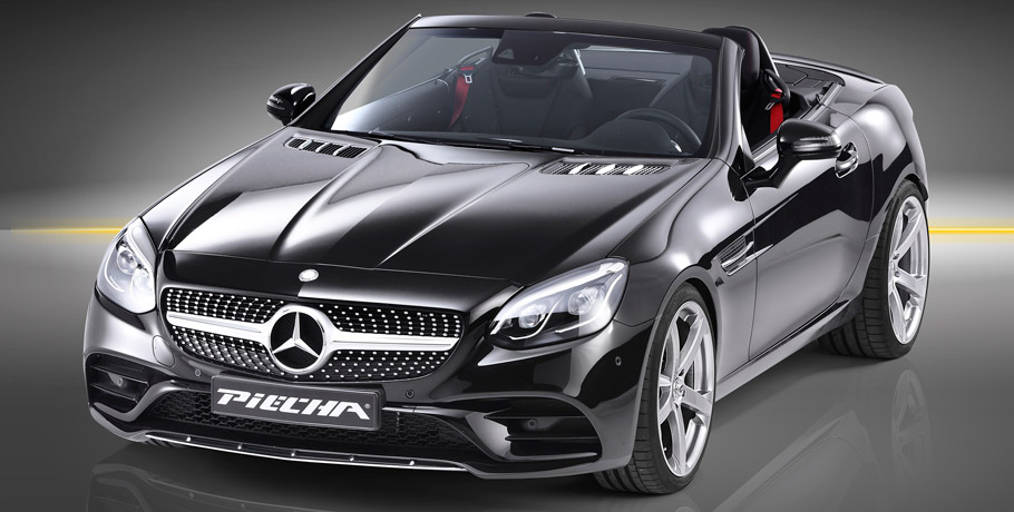 Piecha Design Mercedes-Benz SLC front view