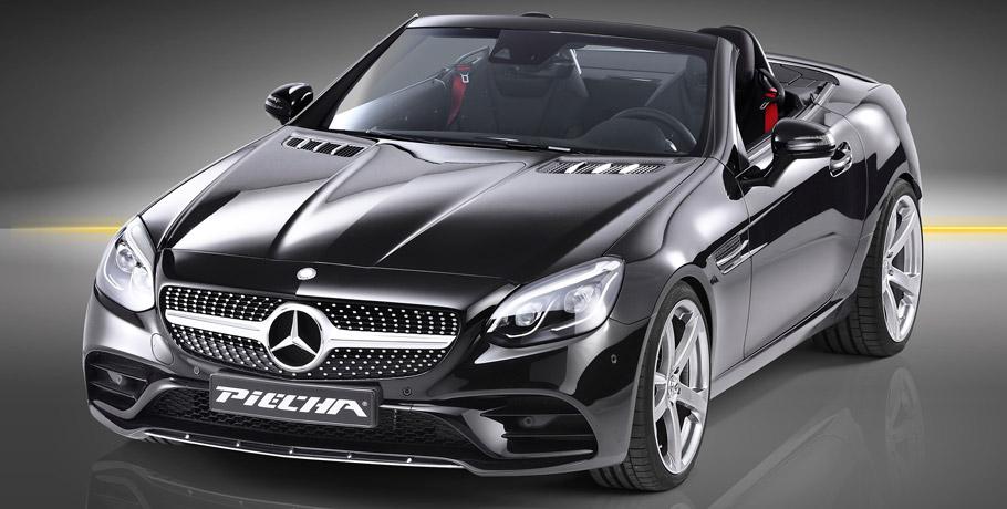 Piecha Design Mercedes-Benz SLC front view