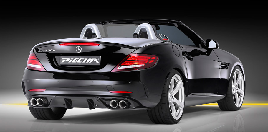 Piecha Design Mercedes-Benz SLC rear view