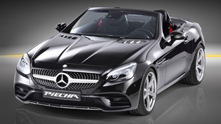Mercedes-Benz SLC has never looked better and there is just one reason for this