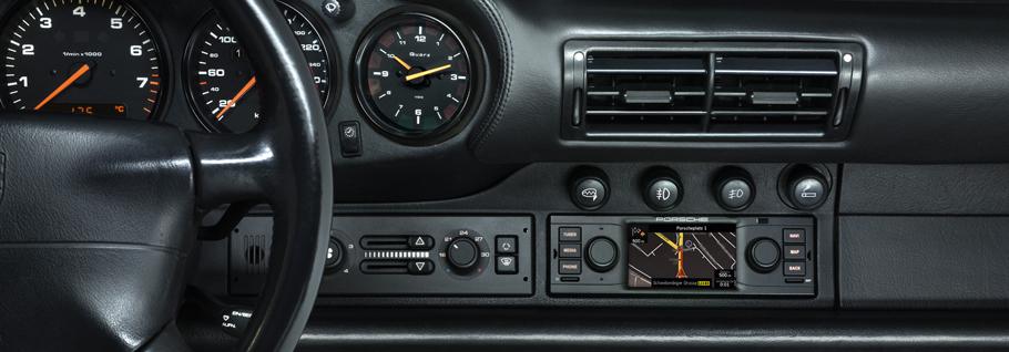 Porsche Reveals The Classic Radio Navigation System