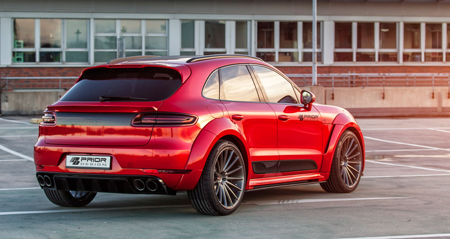 Prior-Design Porsche Macan PD600M rear view