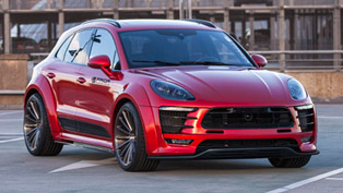 Prior-Design brings out the best from Porsche Macan with PD600M wide-body conversion