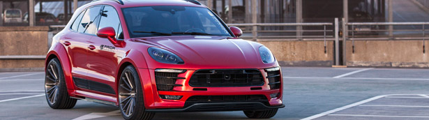 Prior-Design bring out the best from Porsche Macan with PD600M wide-body conversion