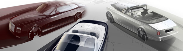 Rolls-Royce celebrates the Drophead Coupé and Phantom Coupé with Zenith Collection as they leave the stage