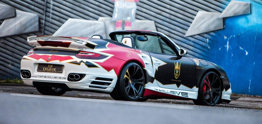 TIP-Exclusive Porsche 911 Turbo Cabriolet side view