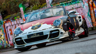TIP-Exclusive creates one-off arty Porsche 911 Turbo Cabriolet