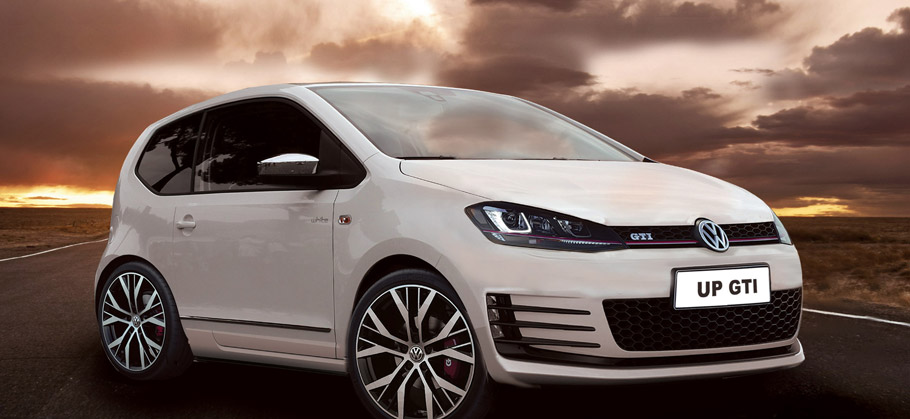 Volkswagen up! GTi front view