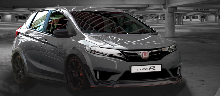 Honda Jazz Type R front view
