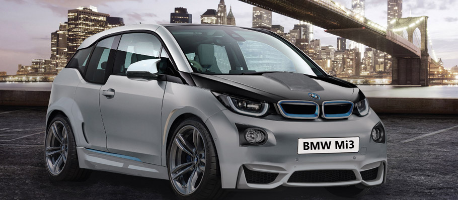 BMW M i3 front view