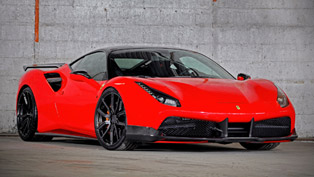 VOS Ferrari 488 GTB features all preliminary qualities to be the perfect Ferrari you will ever see!
