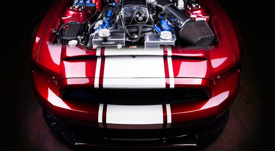 Vilner Shelby Mustang GT500 Super Snake Anniversary Edition front view