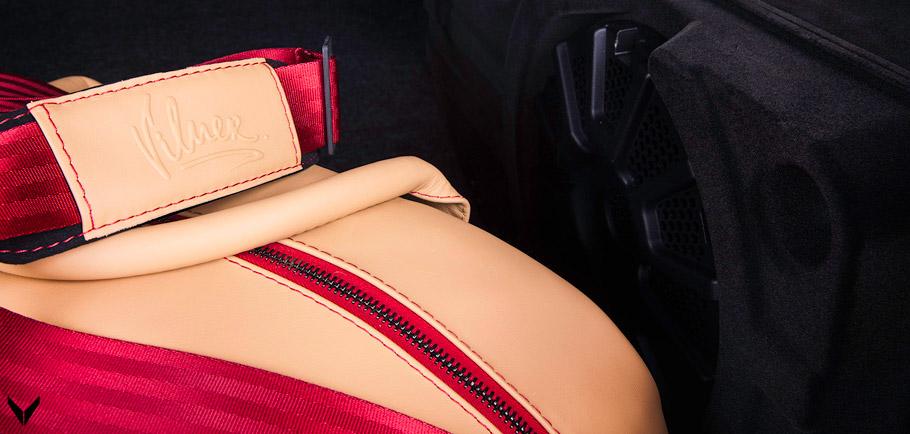 Vilner Shelby Mustang GT500 Super Snake Anniversary Edition hand bag