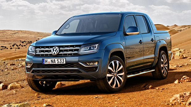 VW gears the mighty Amarok pickup with V6 power units. Here are more details