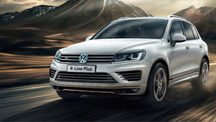 Volkswagen gears the almighty Touareg with luxurious trim level, called R-Line Plus. Check it out!