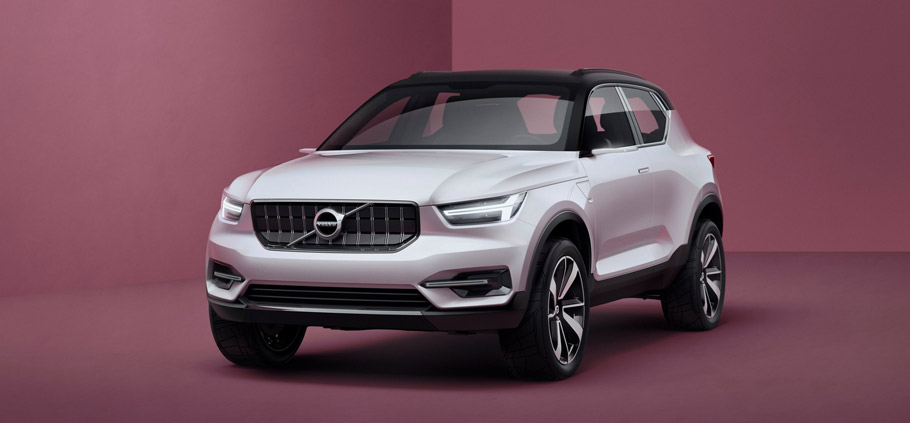 Volvo Concept Cars 40.1 front view
