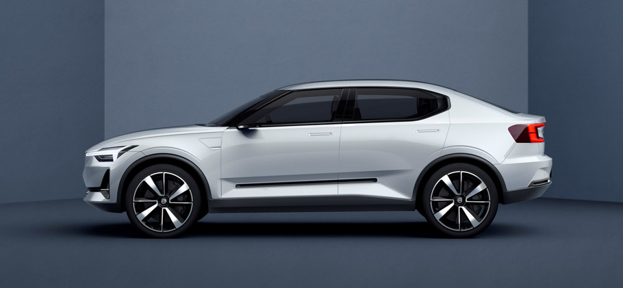 Volvo Concept Cars 40.2 side view