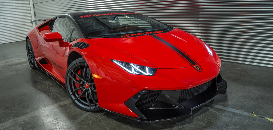Vorsteiner Lamborghini Huracan Novara front view