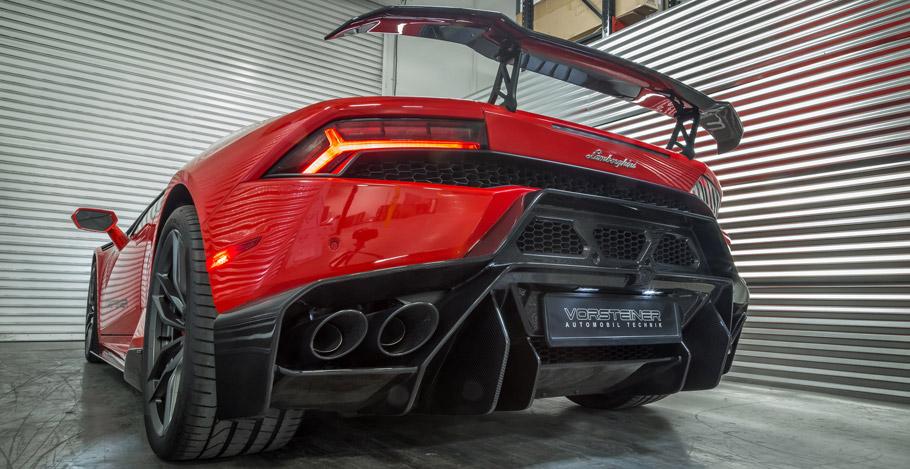 Vorsteiner Lamborghini Huracan Novara rear view