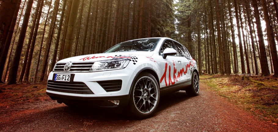 WIMMER Volkswagen Touareg Concept front view