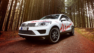wimmer shows how to tune properly volkswagen touareg with its latest concept