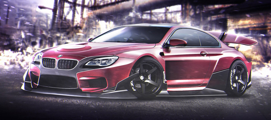 Magneto Driving a BMW M6 Coupe