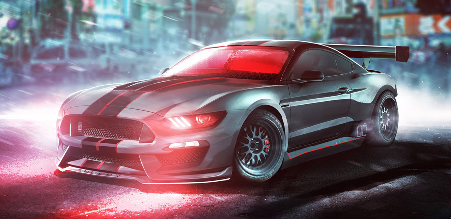 Cyclops Driving Shelby Mustang GT350R