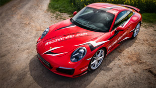 mcchip-dkr releases speedy 485 HP Porsche 991 Carrera S