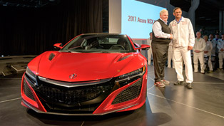 why the first production 2017 acura nsx is a big moment for the brand and for everyone living in ohio [w/videos]