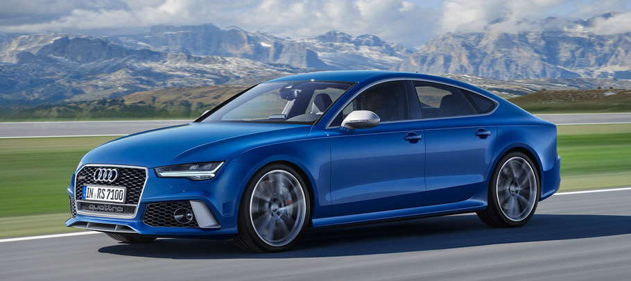 2017 Audi RS 7 Sportback performance side view