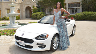 playboy's 2016 playmate of the year wins 2017 fiat 124 spider