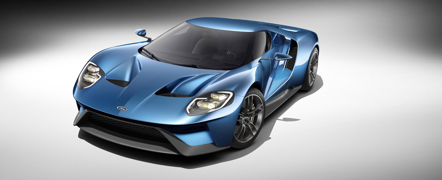 2016 Ford GT with carbon wheels